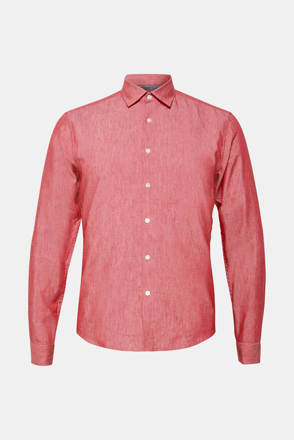 Shirts woven Slim fit, RED, detail image number 6