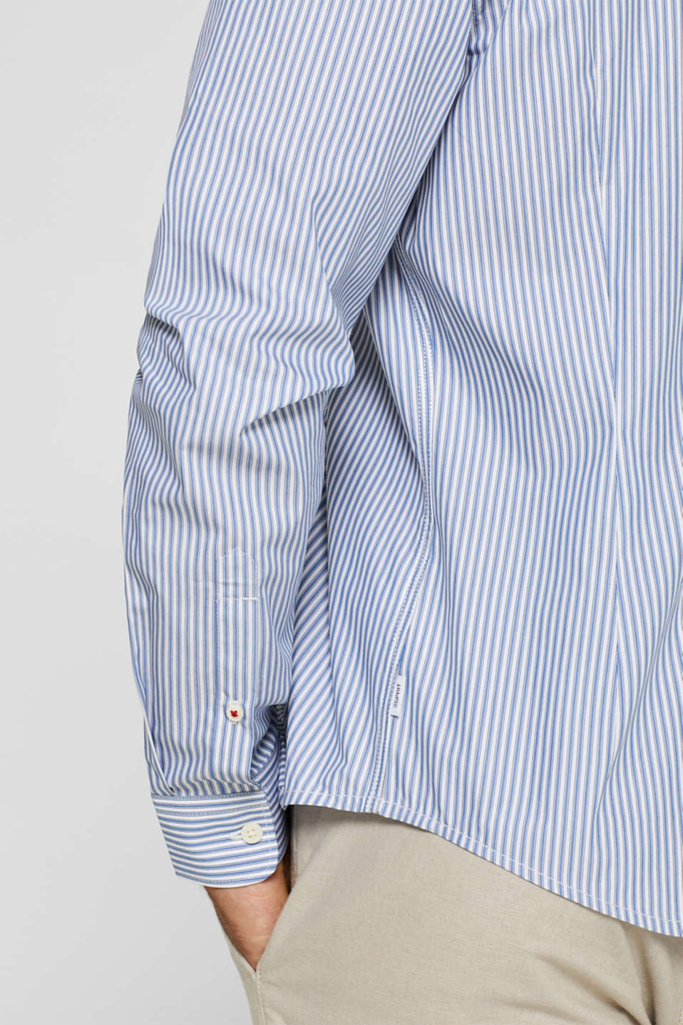 Shirts woven Slim fit, BLUE, detail image number 2