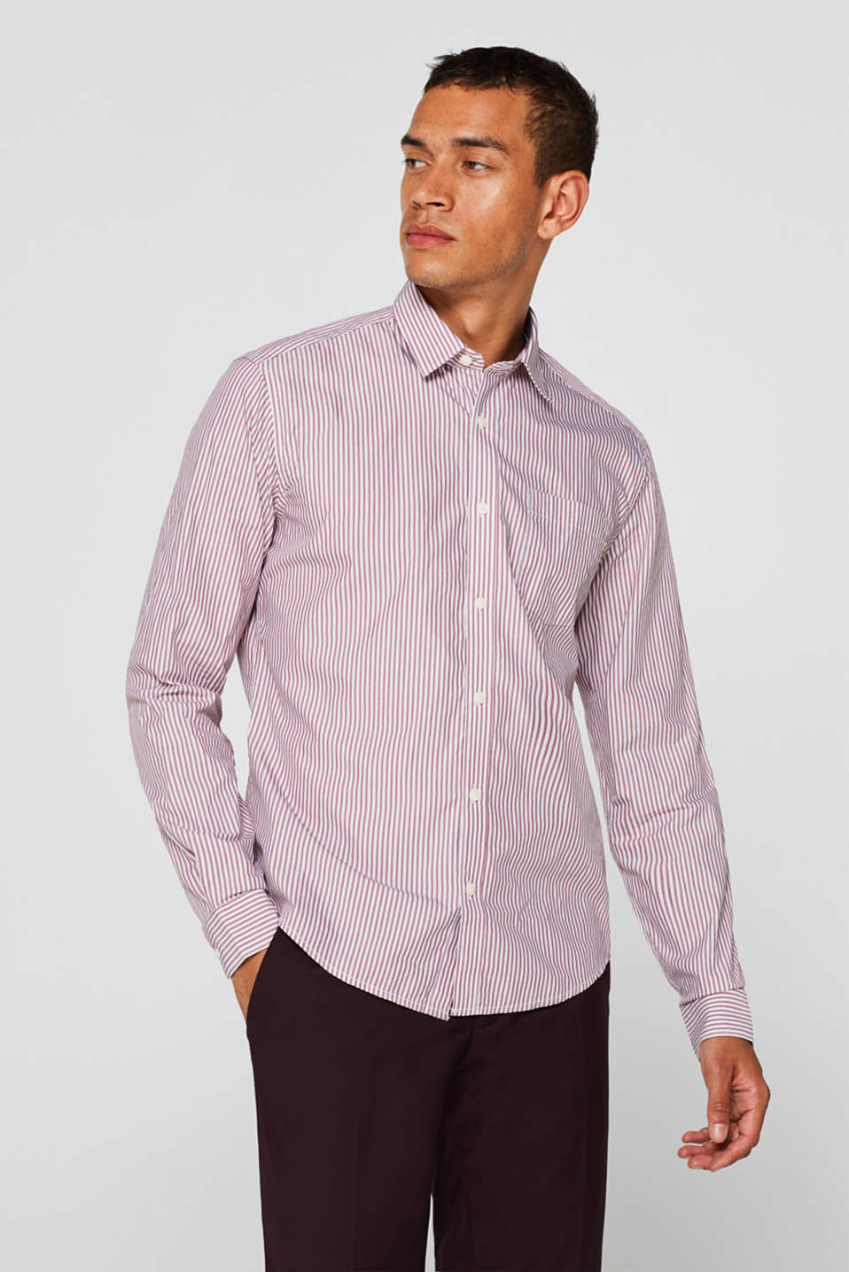Shirts woven Slim fit, RED, detail image number 0