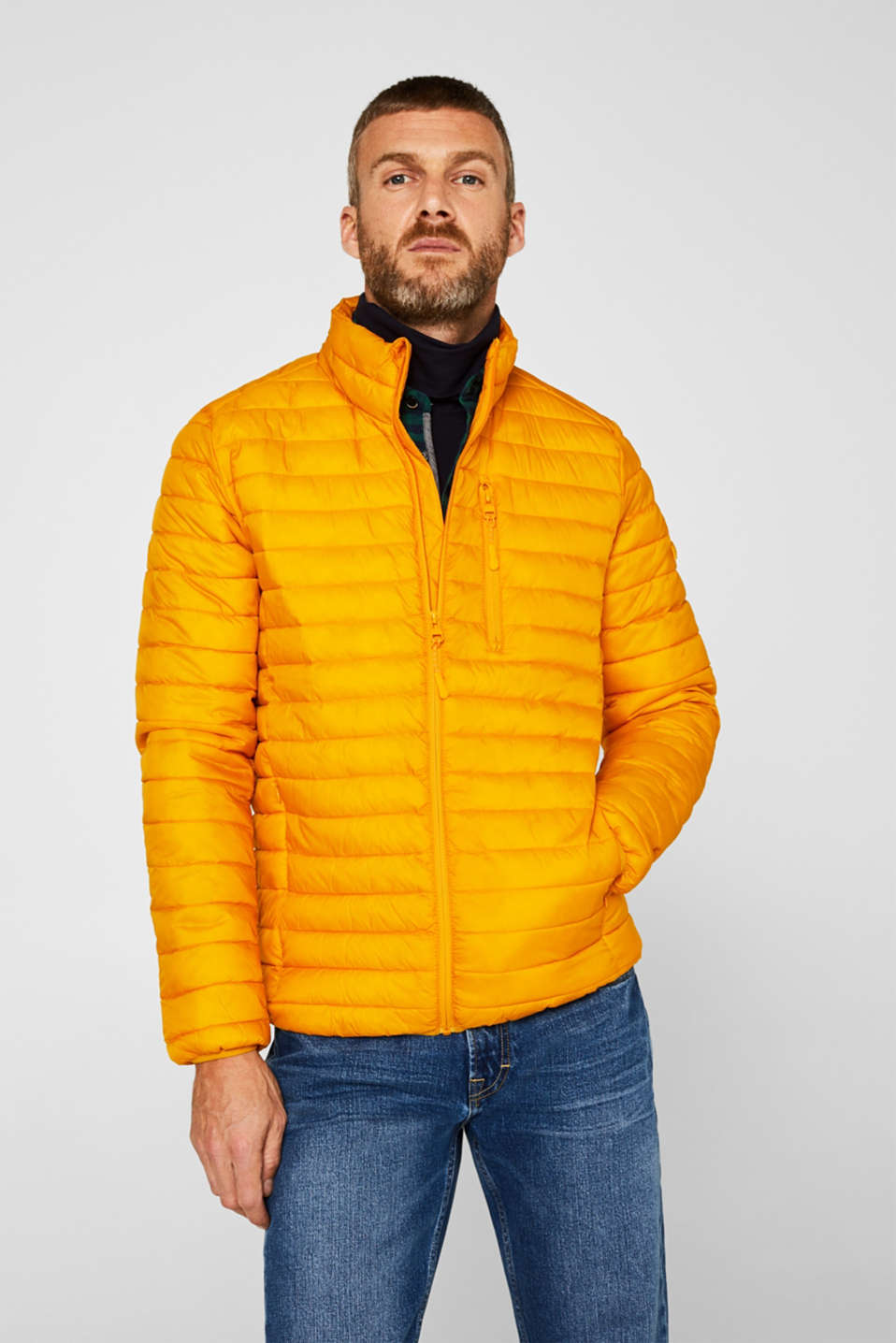Jackets outdoor woven, DUSTY YELLOW, detail image number 0