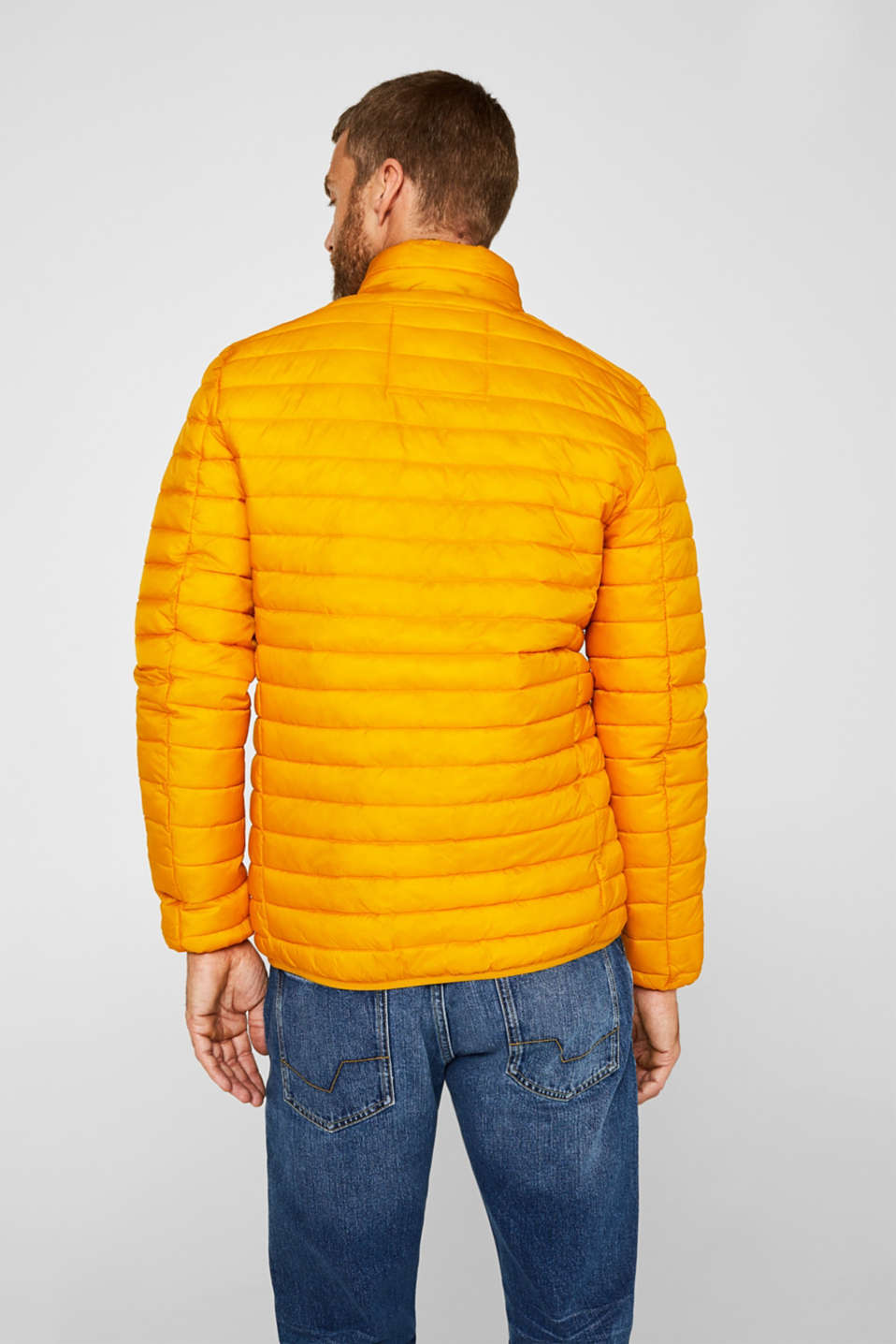 Jackets outdoor woven, DUSTY YELLOW, detail image number 3
