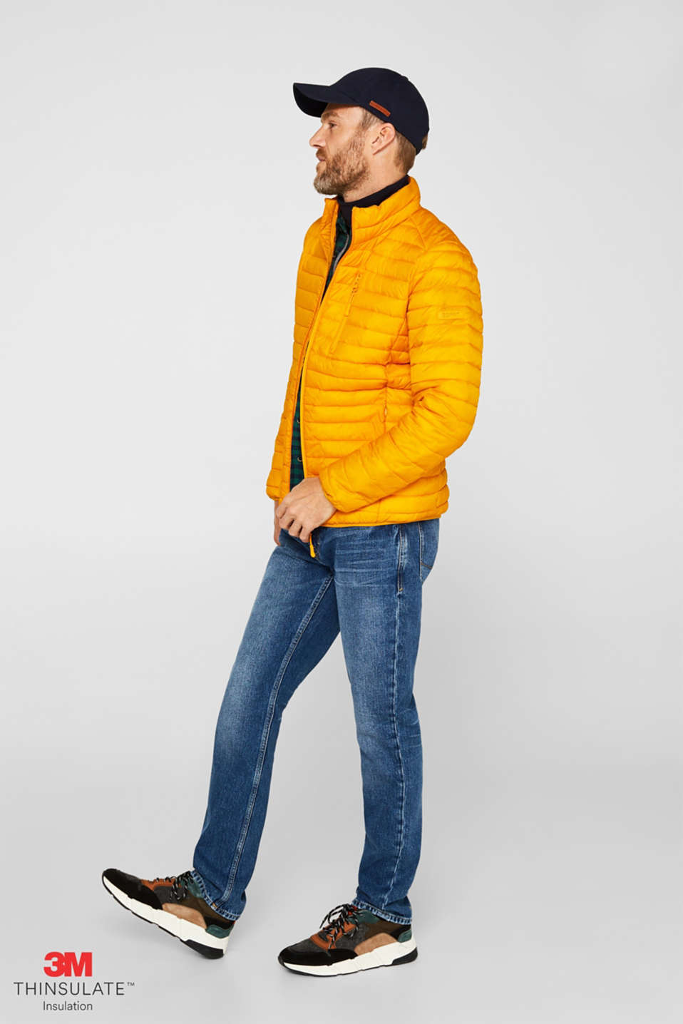 Jackets outdoor woven, DUSTY YELLOW, detail image number 1