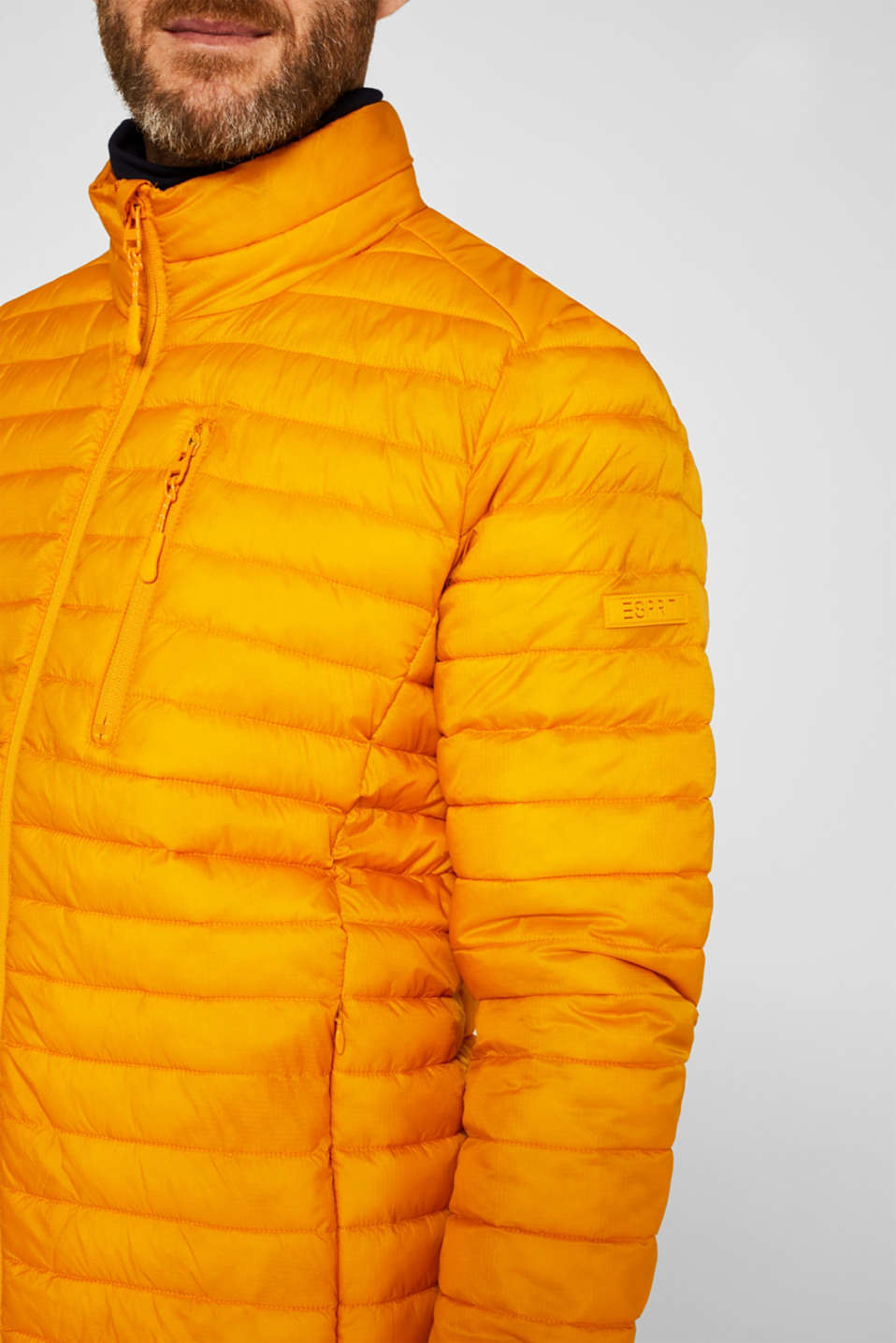 Jackets outdoor woven, DUSTY YELLOW, detail image number 2