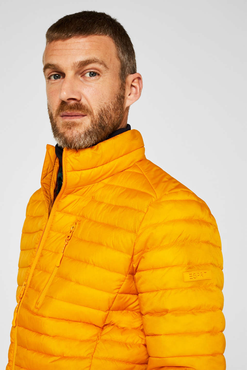 Jackets outdoor woven, DUSTY YELLOW, detail image number 5