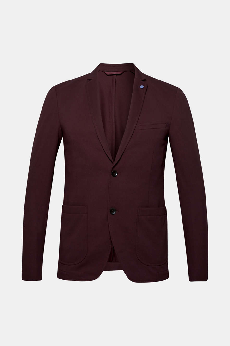 Blazers knitted, PLUM RED, detail image number 6