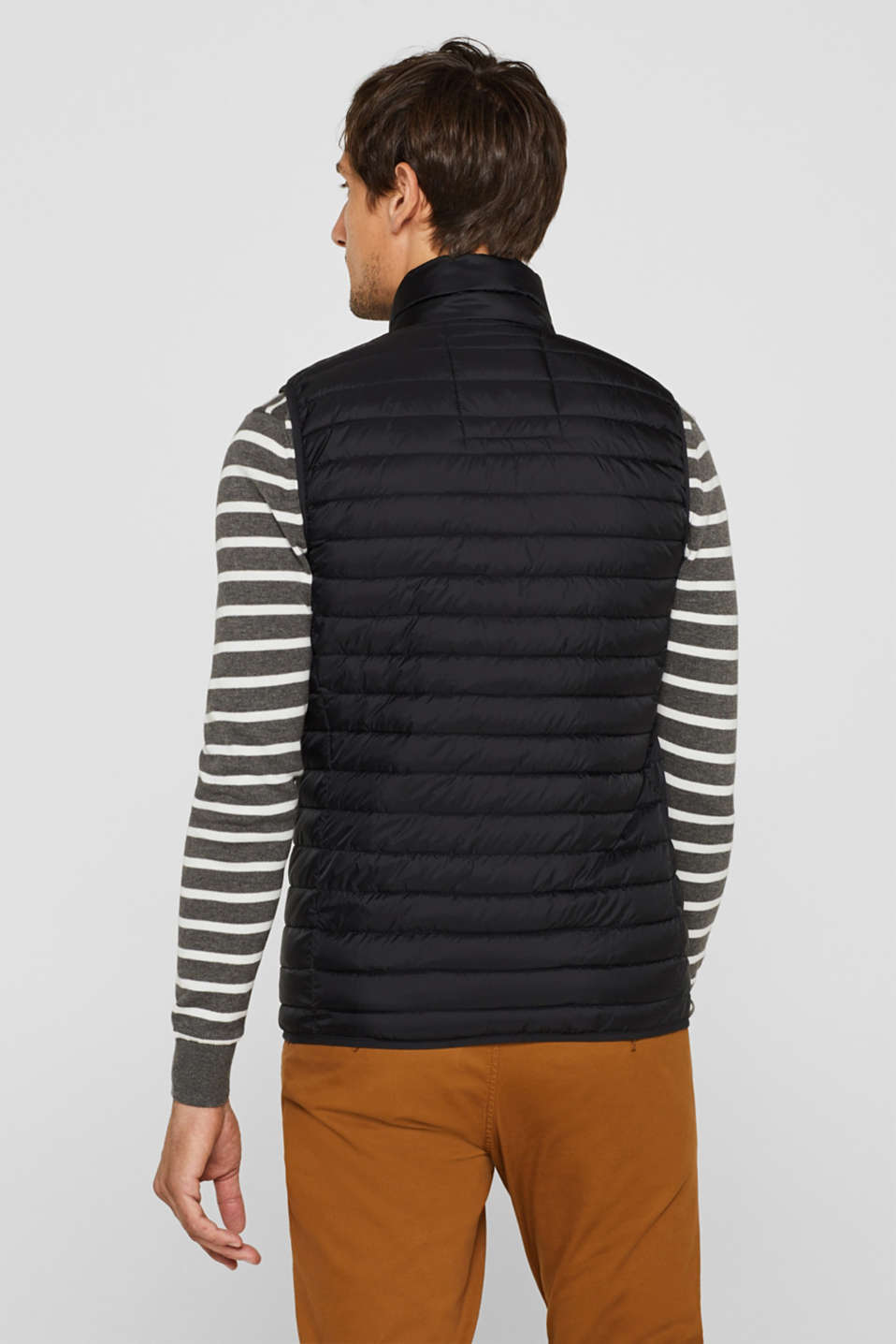 Vests outdoor woven, BLACK, detail image number 3