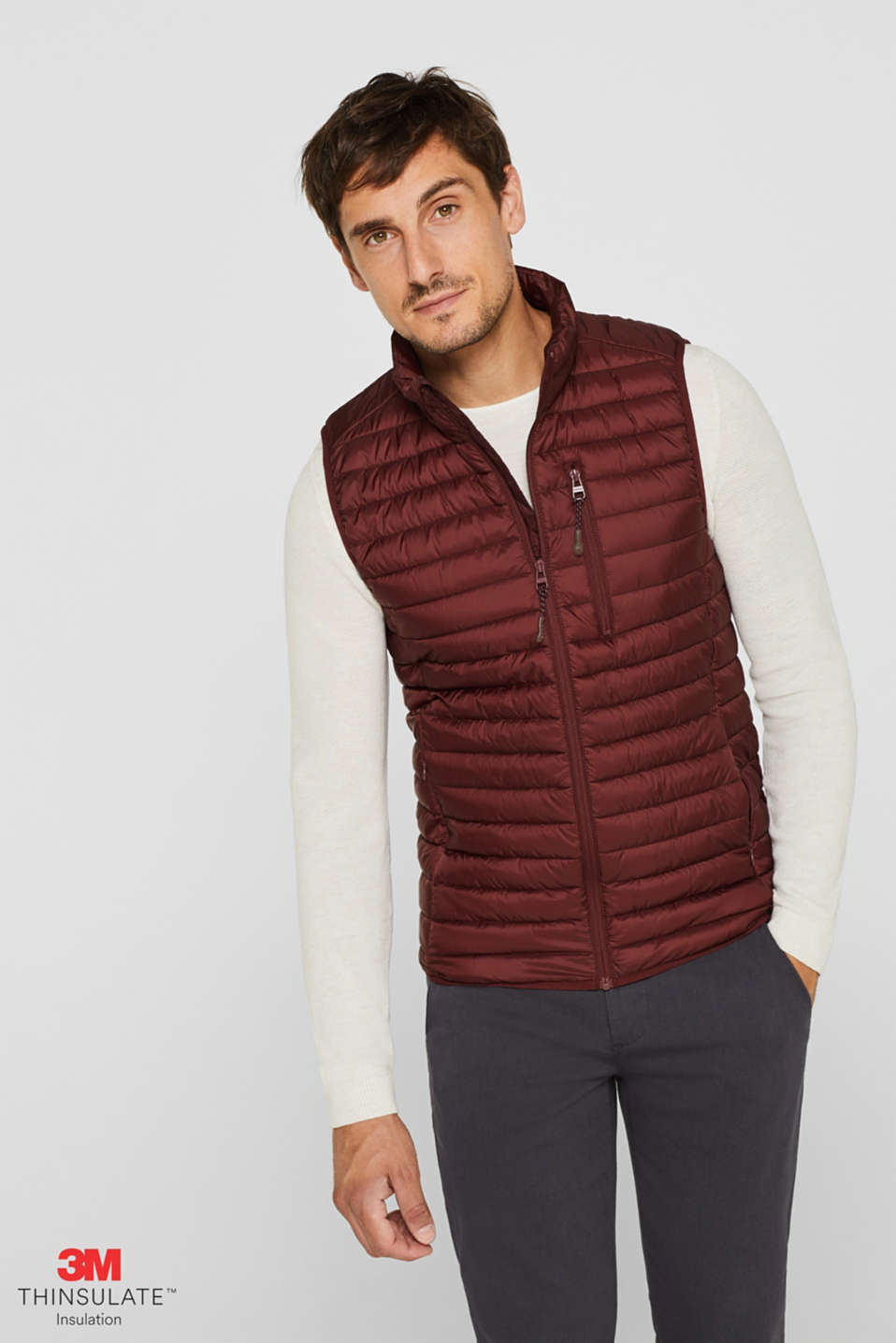 Quilted bodywarmer with 3M® Thinsulate® filling