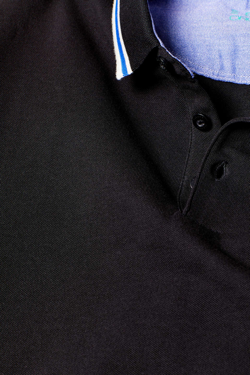Polo shirts, BLACK, detail image number 5