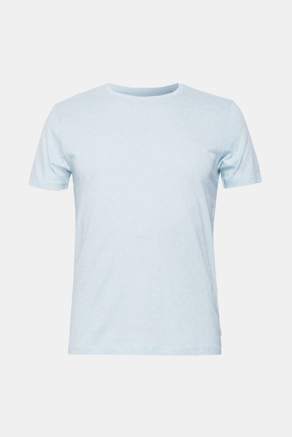 Jersey top with an all-over print, 100% cotton, LIGHT BLUE, detail image number 6