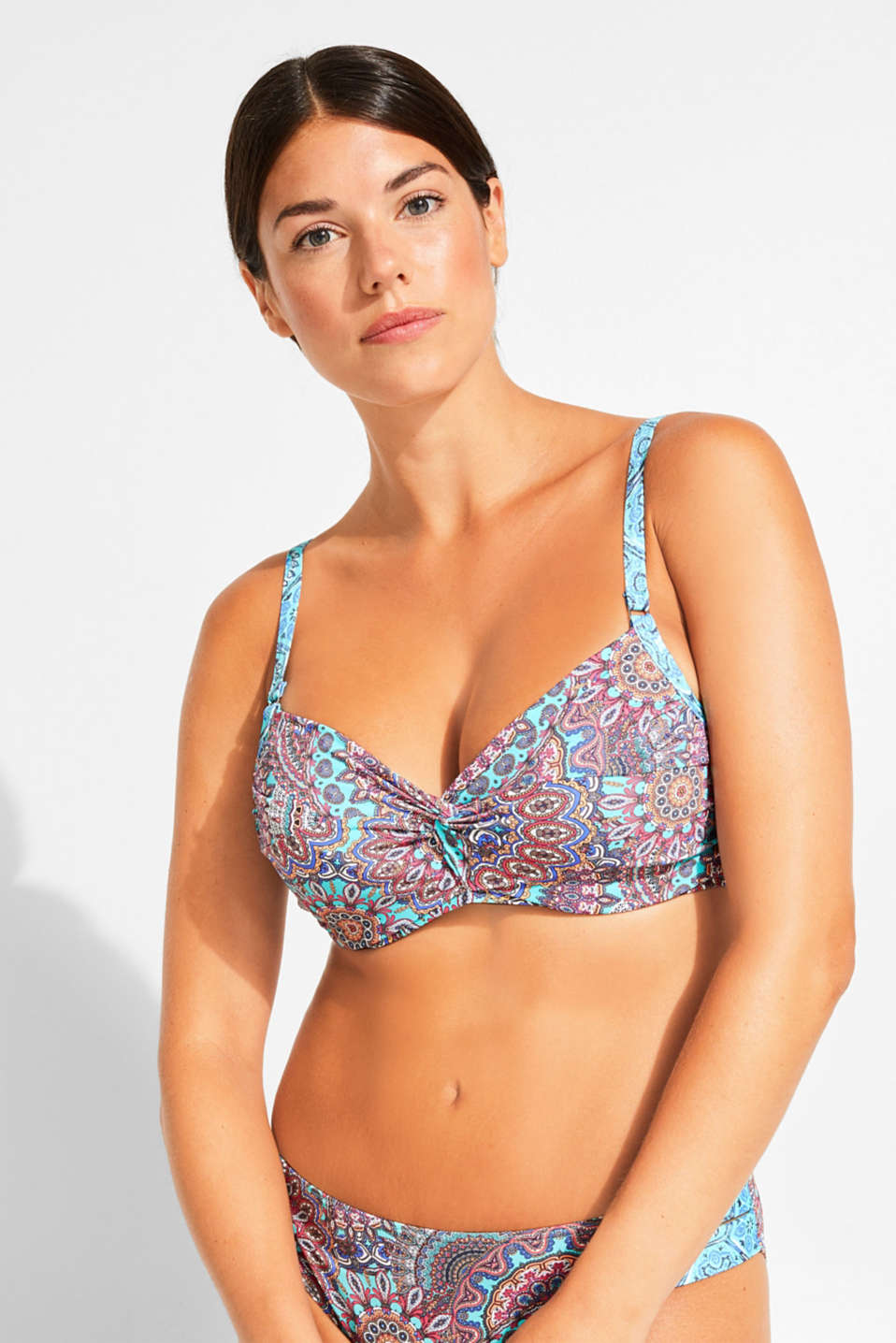 Esprit - Unpadded underwire top for large cup sizes