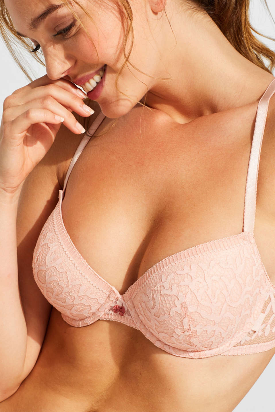 Bras with wire, NUDE, detail image number 2