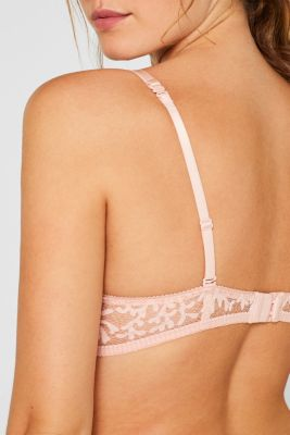 Padded bra with multiway straps