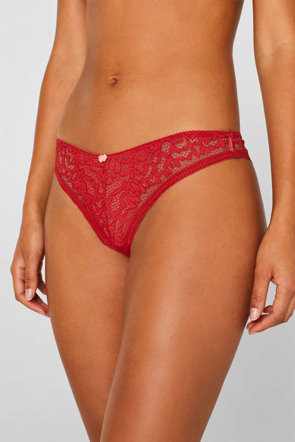 Bottoms, CORAL RED, detail image number 1
