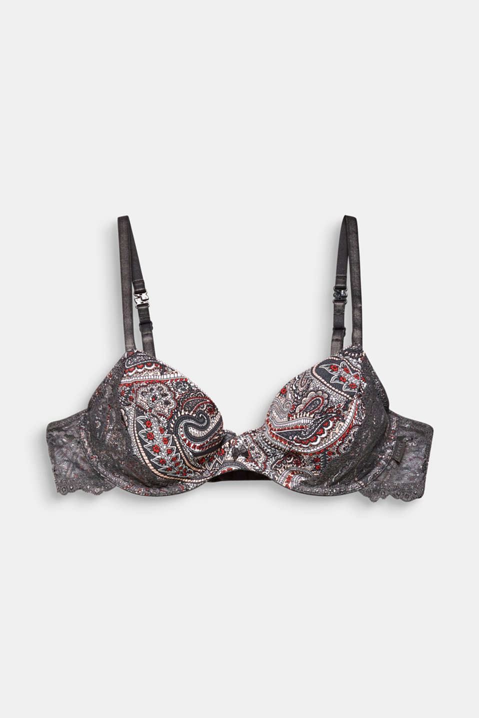 Bras with wire, ANTHRACITE, detail image number 5