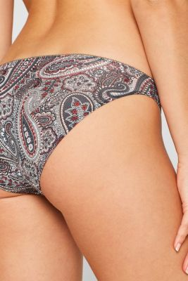 Hipster briefs with a print in a double pack