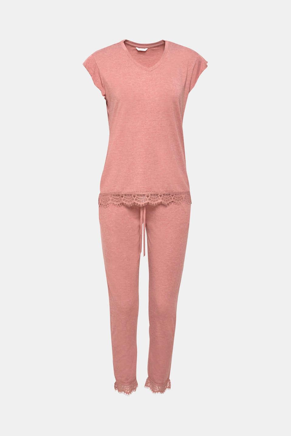 Pyjamas, BLUSH, detail image number 4
