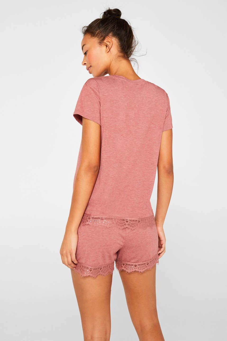 Night-T-Shirts, BLUSH, detail image number 1