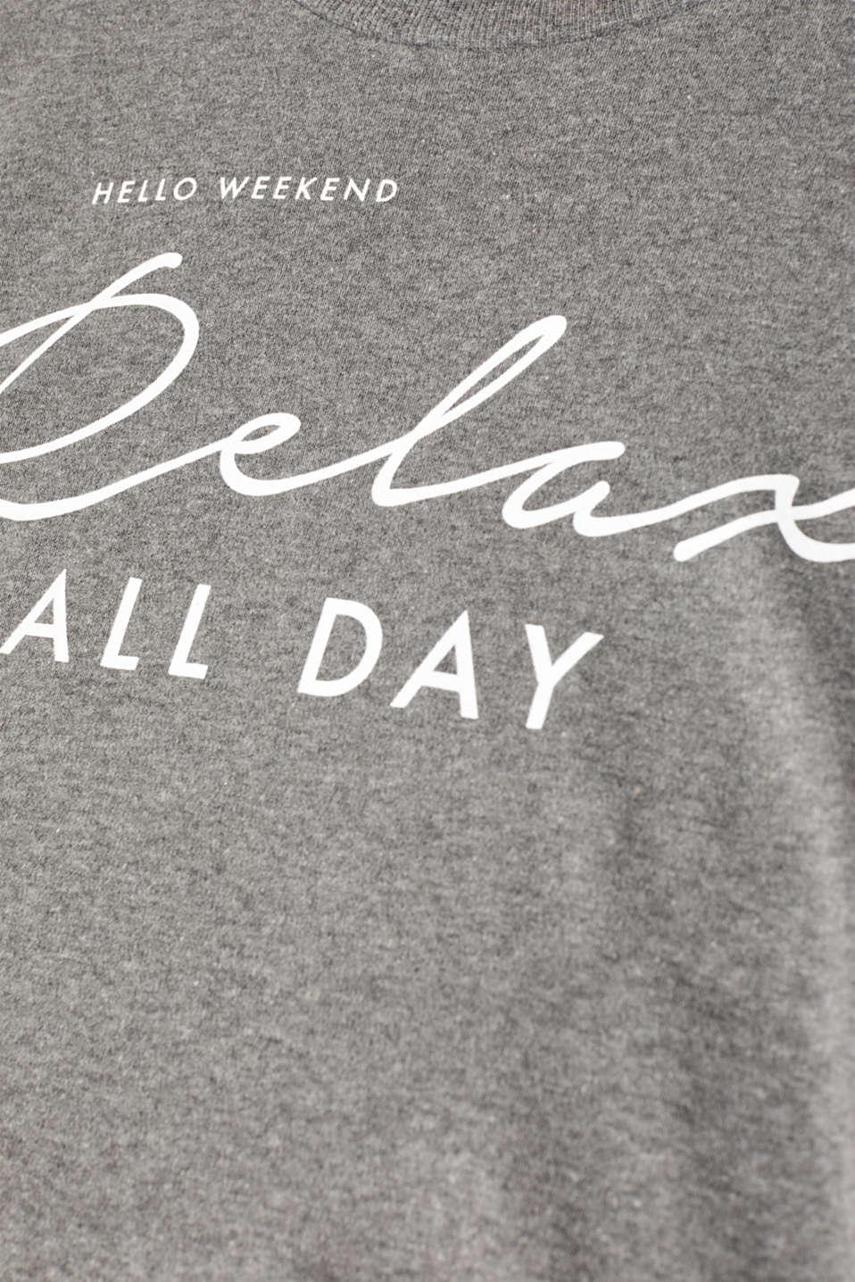 Night-T-Shirts, DARK GREY, detail image number 4