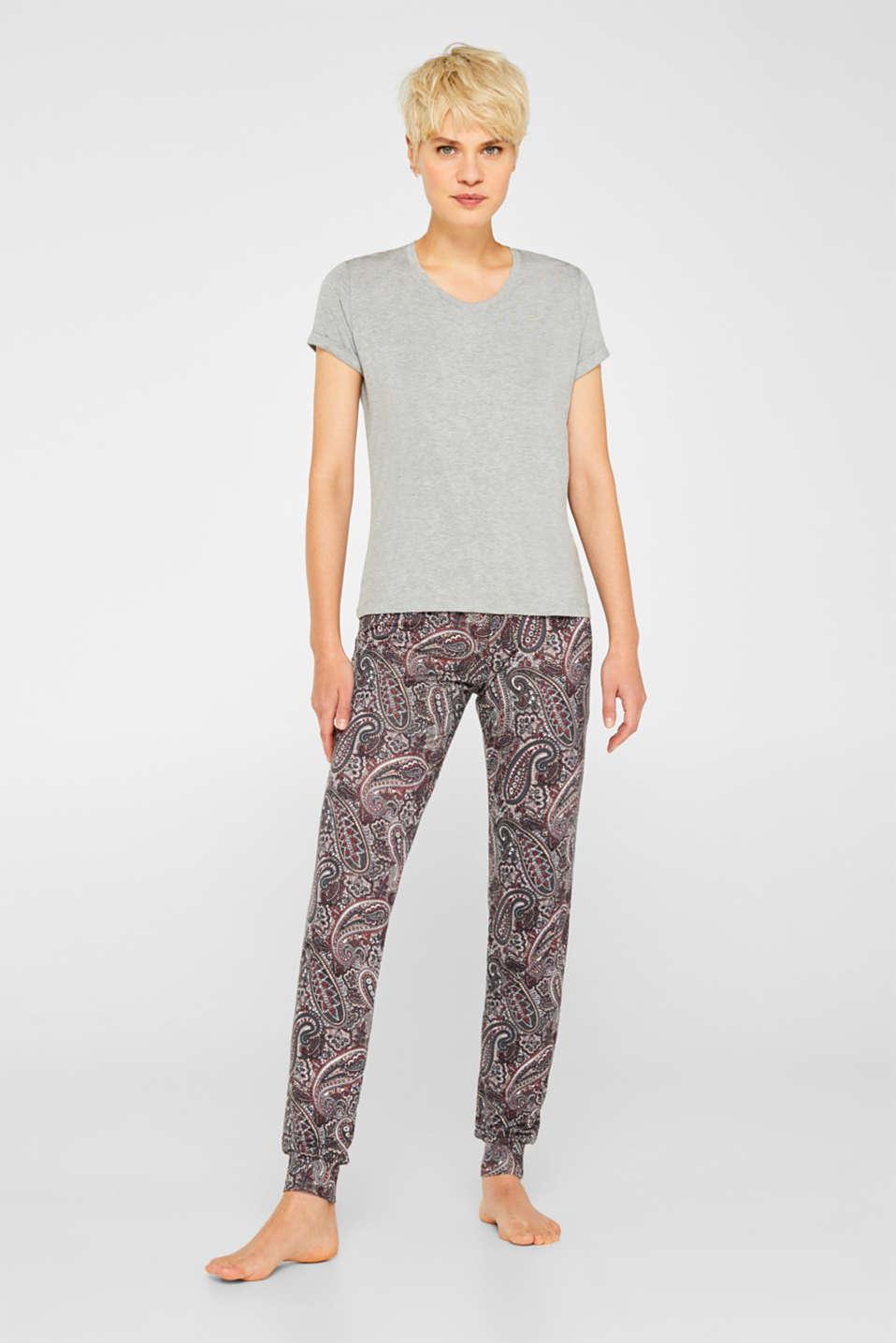 Pyjamas, GREY, detail image number 0