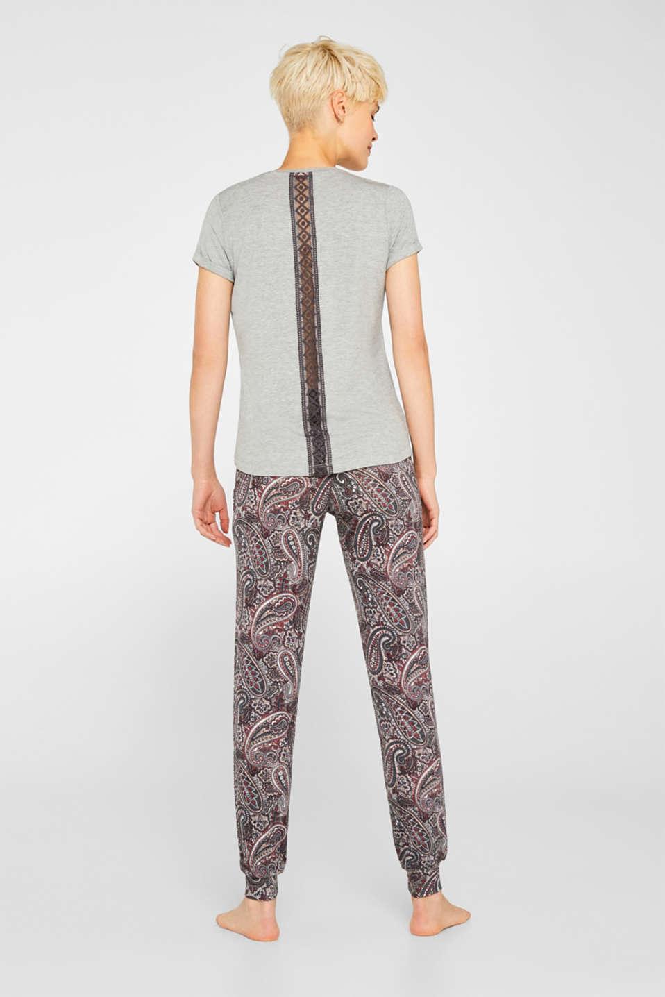 Pyjamas, GREY, detail image number 1
