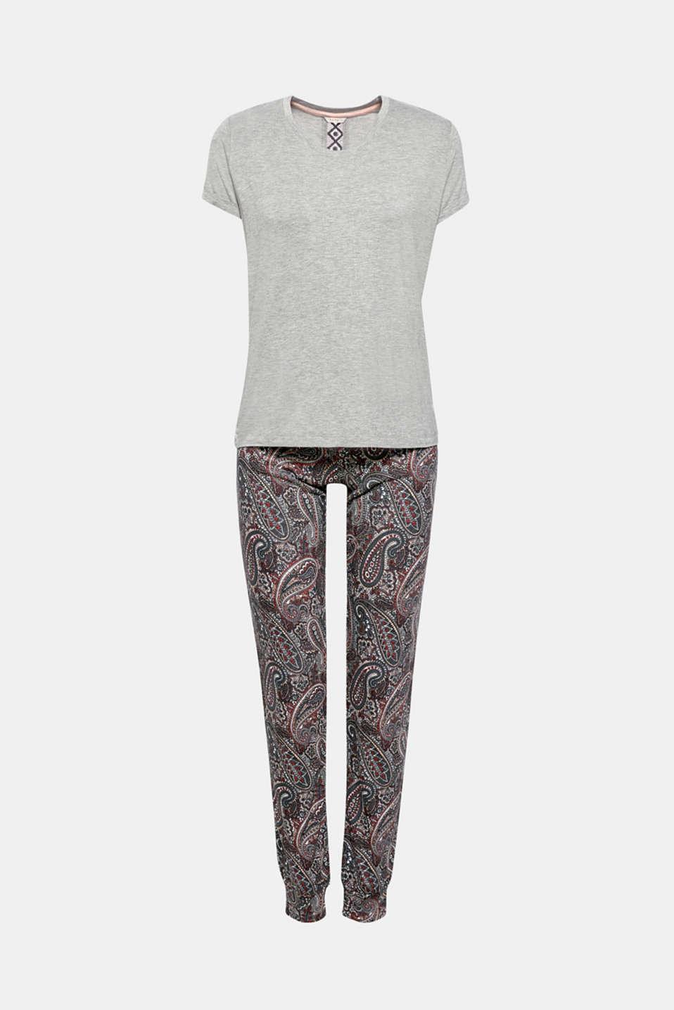Pyjamas, GREY, detail image number 3