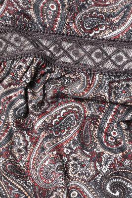 Paisley print jersey nightshirt