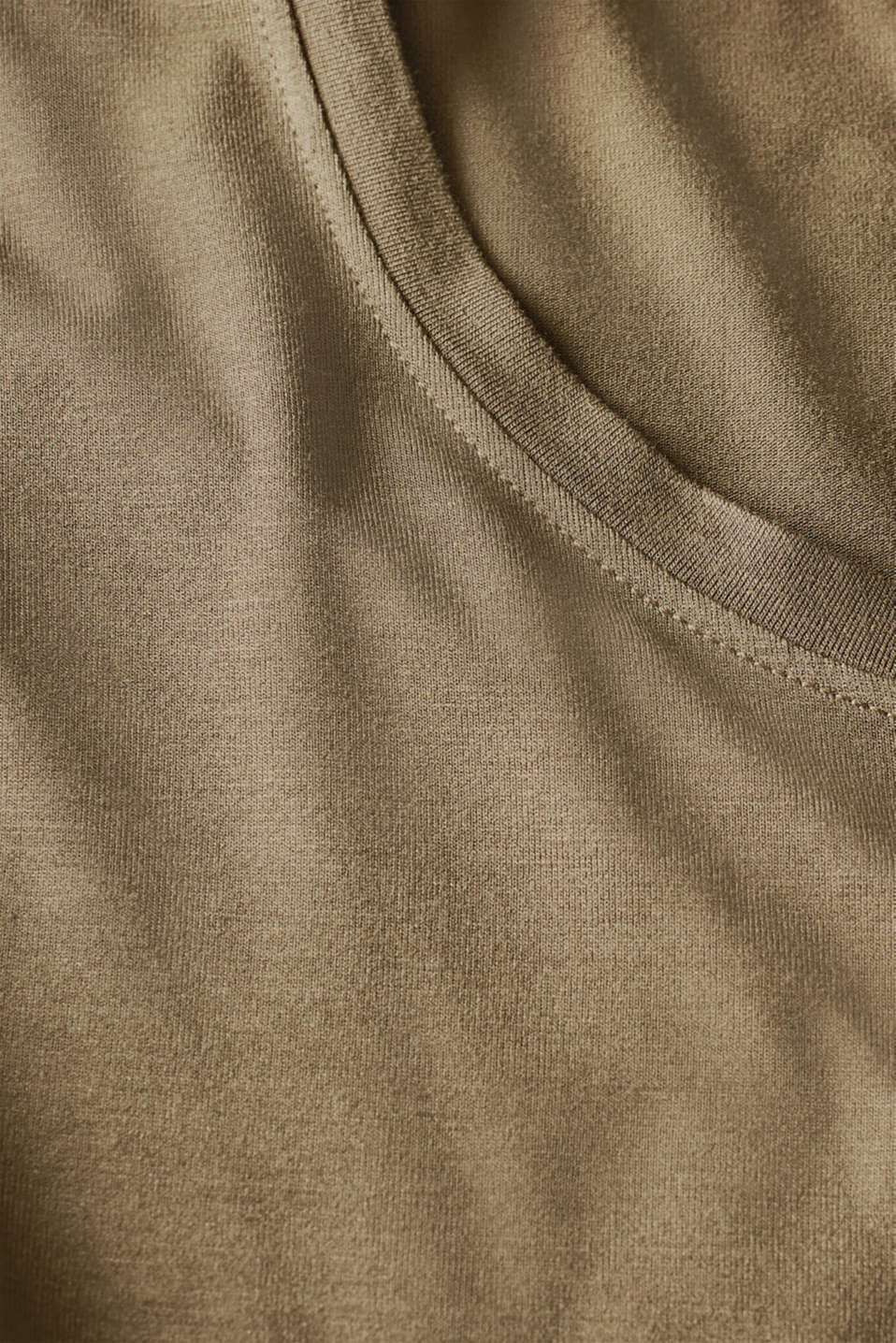 Night-T-Shirts, OLIVE, detail image number 4