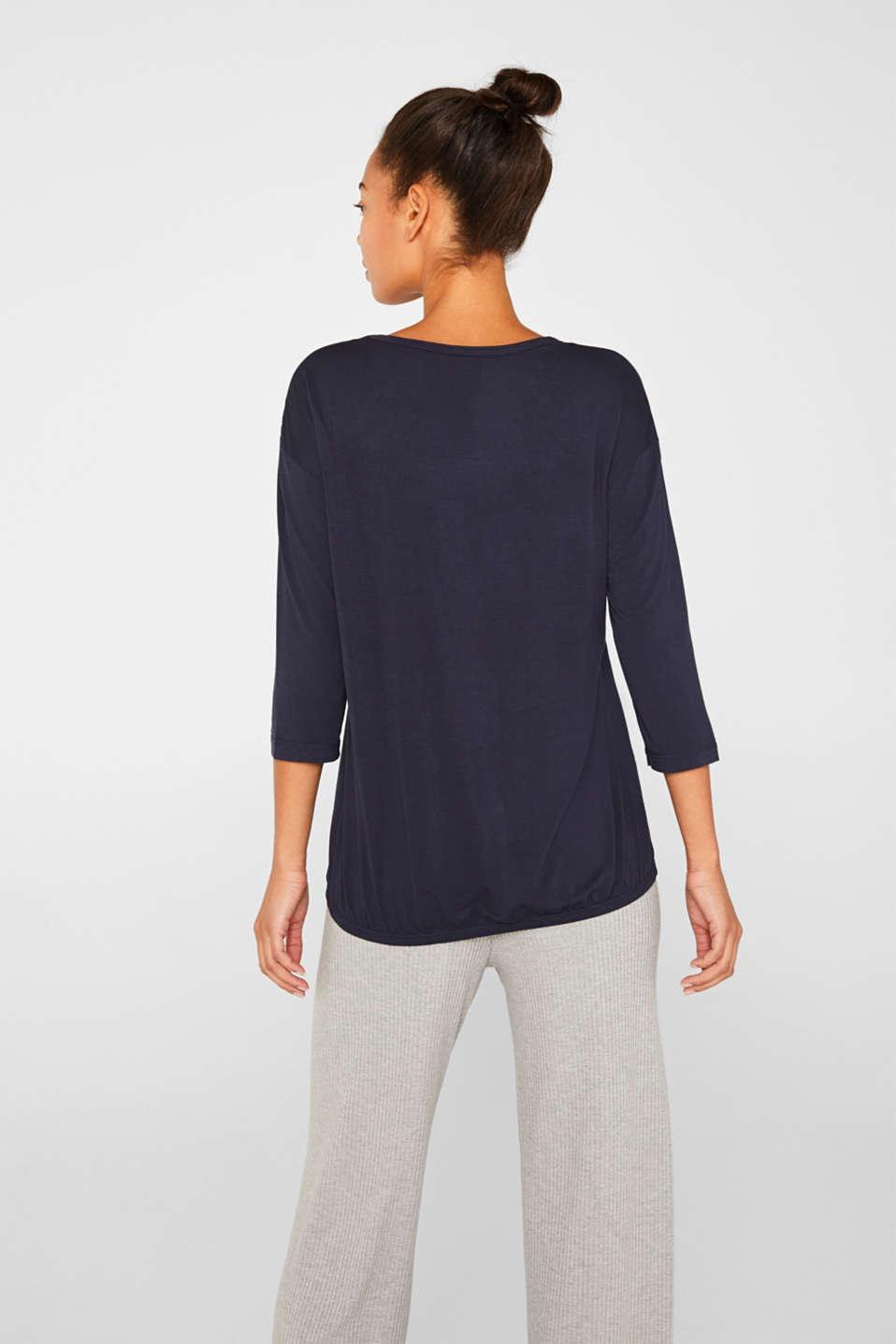 Night-T-Shirts, NAVY, detail image number 2