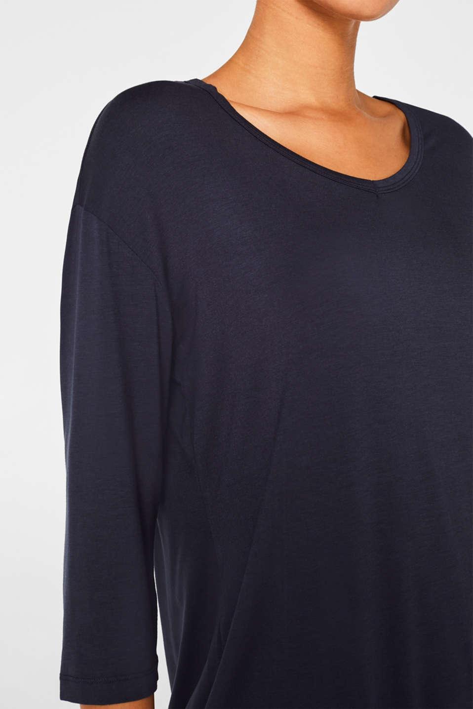 Night-T-Shirts, NAVY, detail image number 3