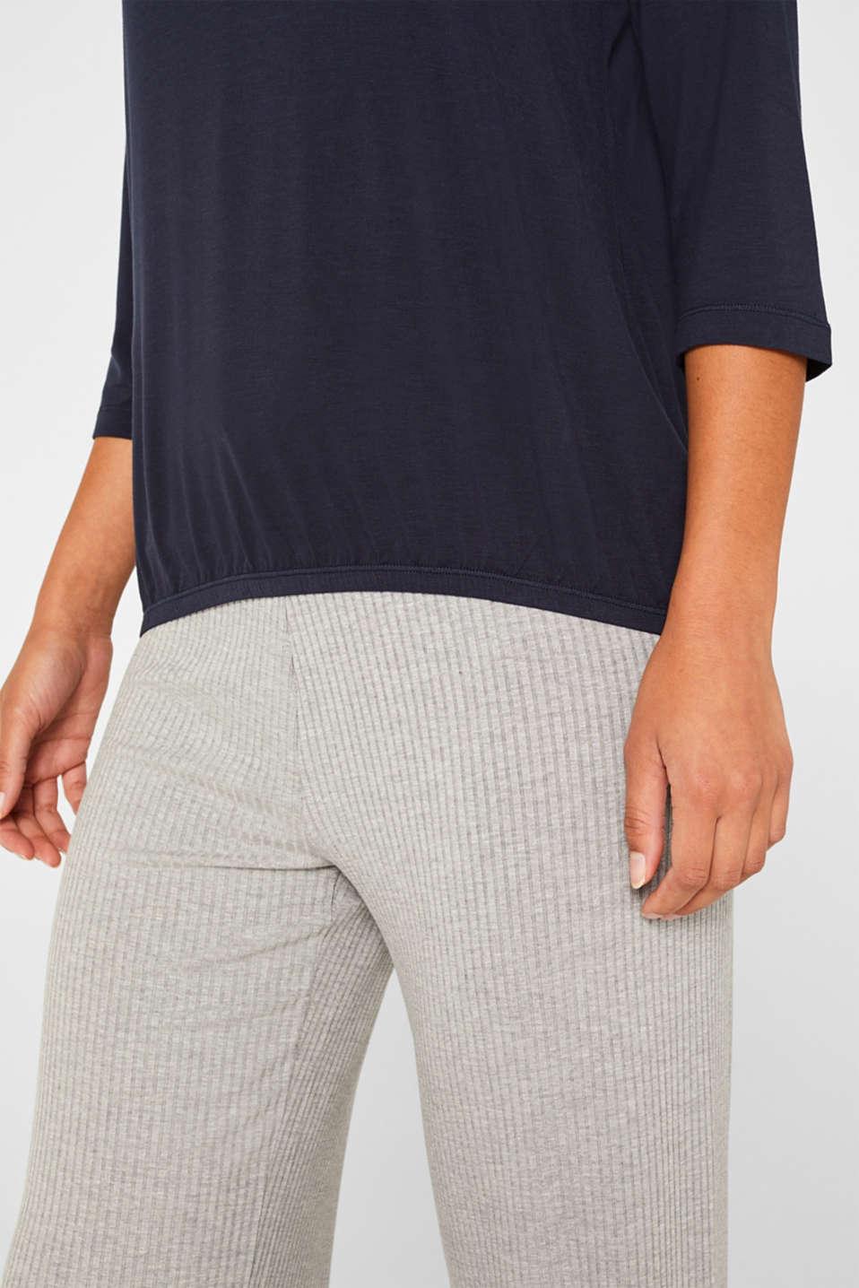 Night-T-Shirts, NAVY, detail image number 5
