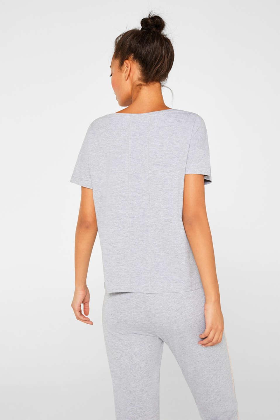 Night-T-Shirts, LIGHT GREY, detail image number 2