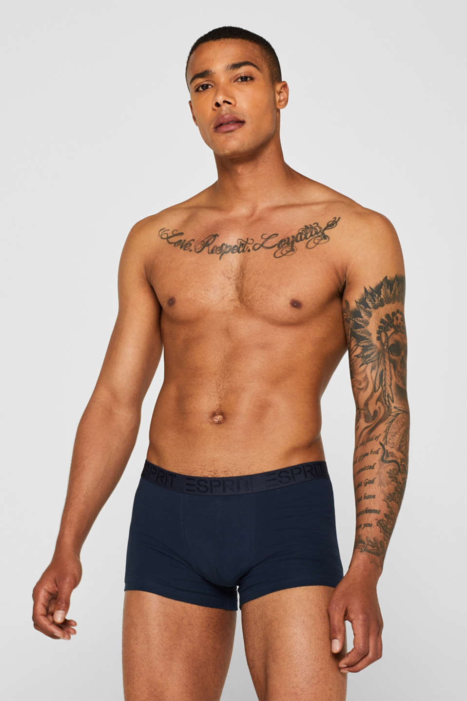Triple pack of hipster shorts, NAVY, detail image number 0
