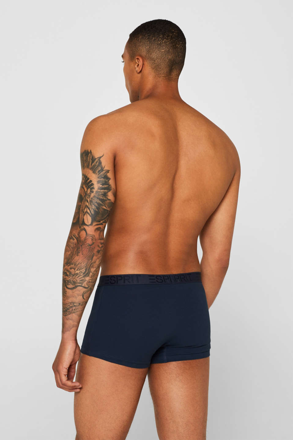 Triple pack of hipster shorts, NAVY, detail image number 1