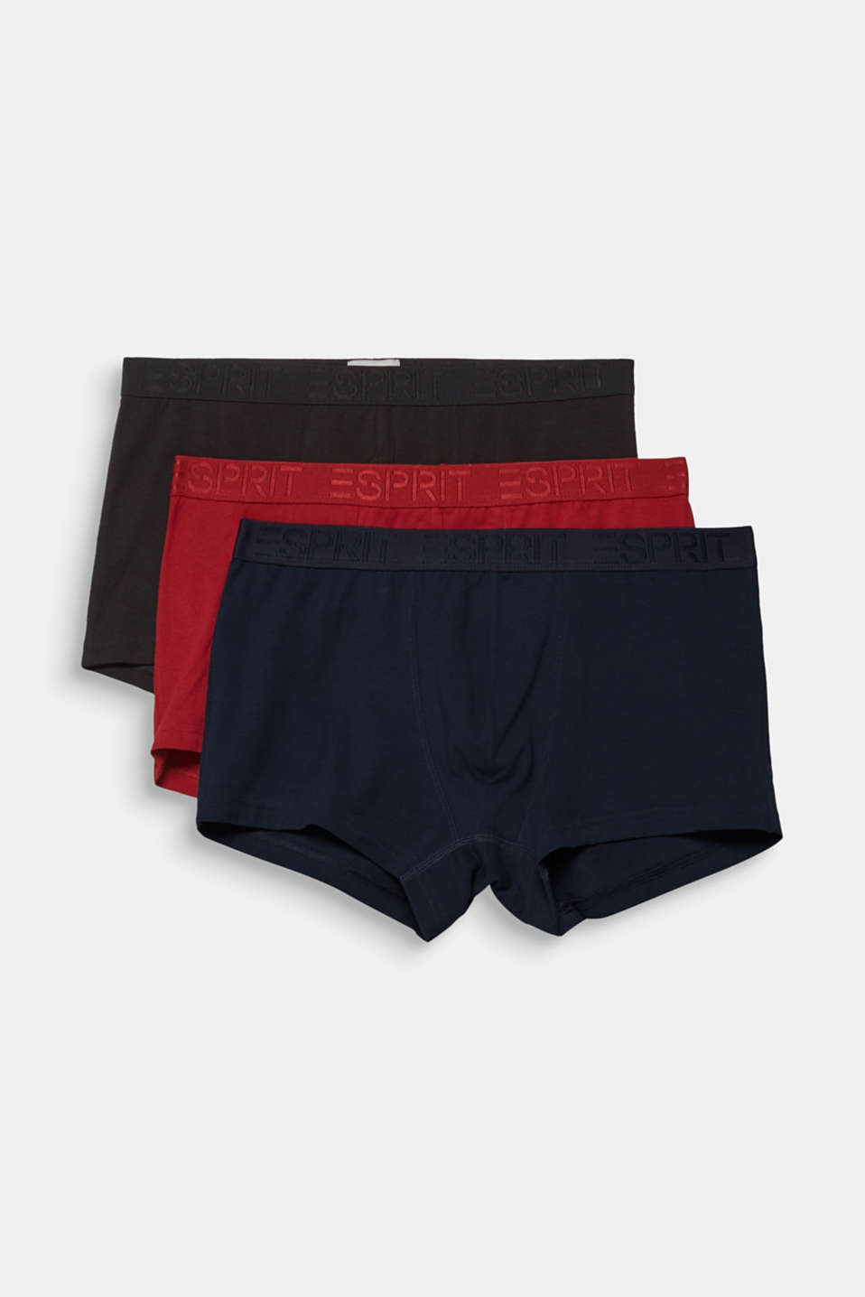 Triple pack of hipster shorts, NAVY, detail image number 3