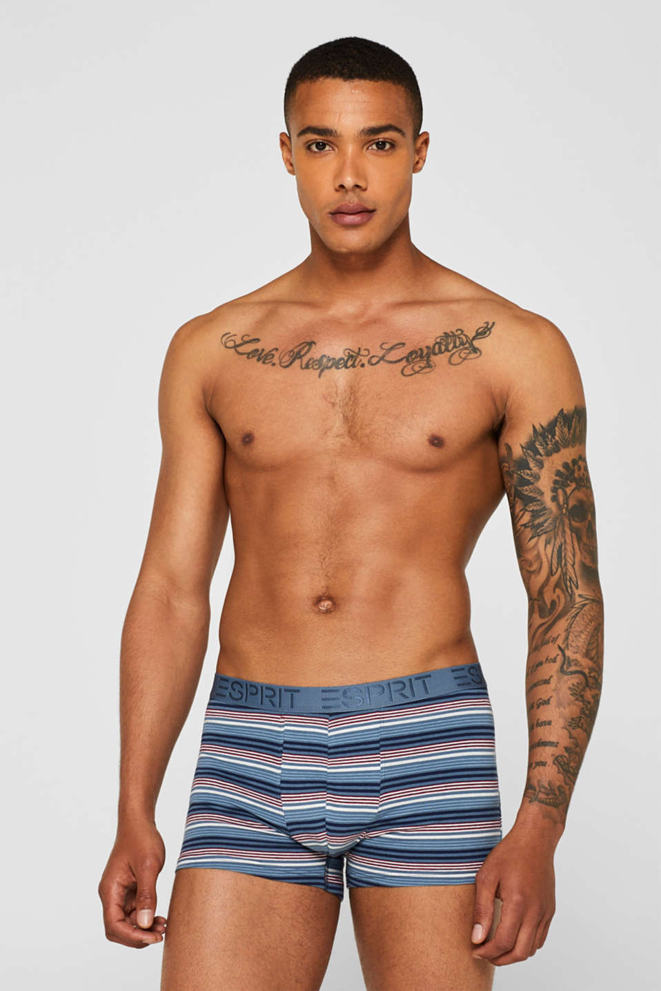 Esprit - Boxers en jersey stretch en lot de 3