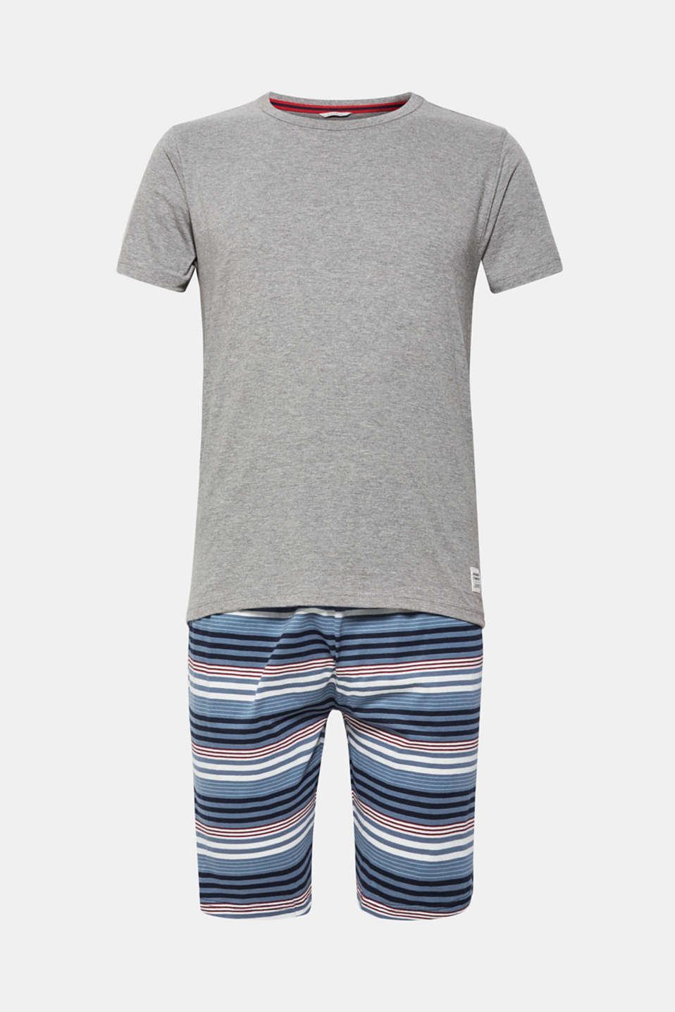 Pyjamas, NAVY, detail image number 4