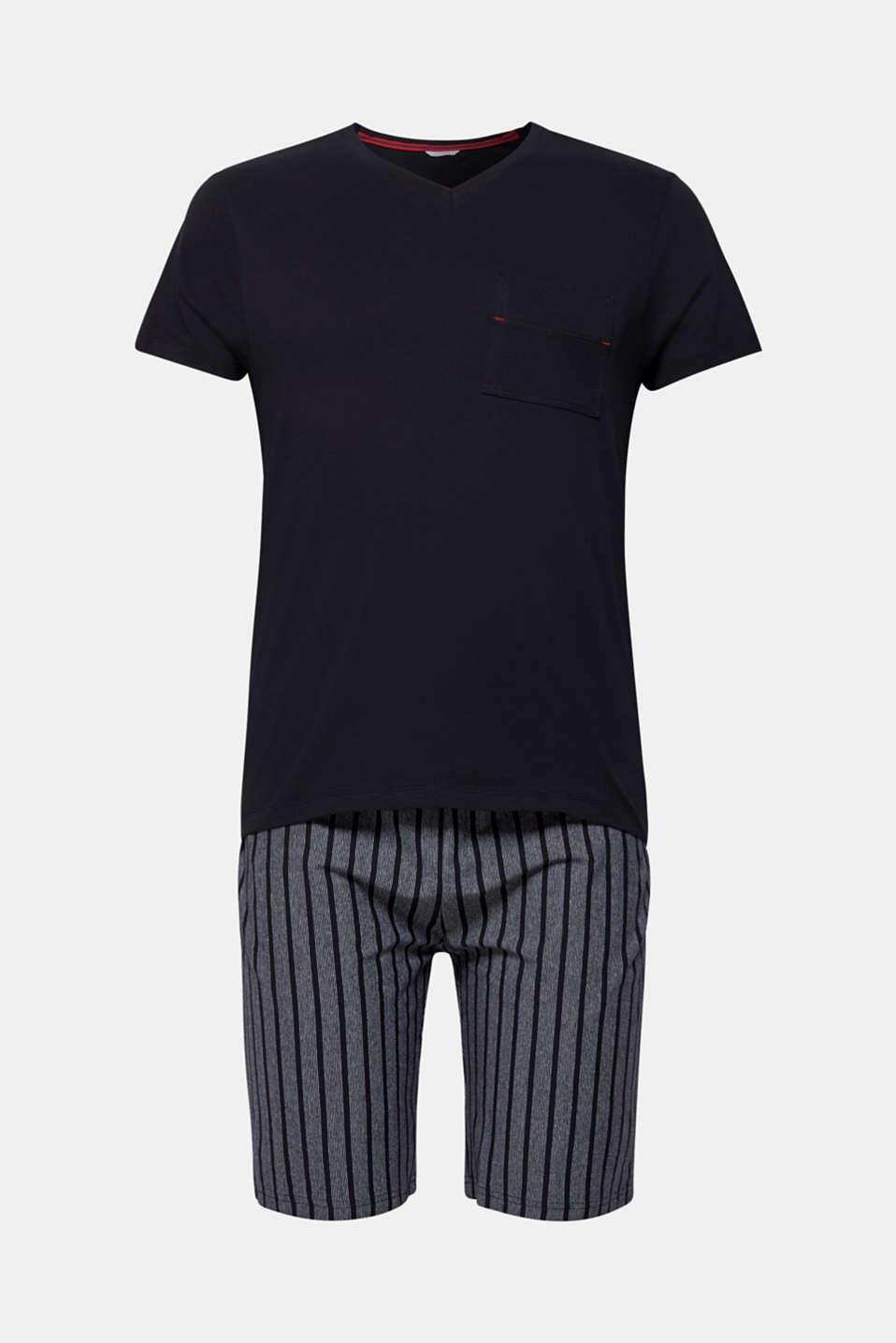 Pyjamas, BLACK, detail image number 4