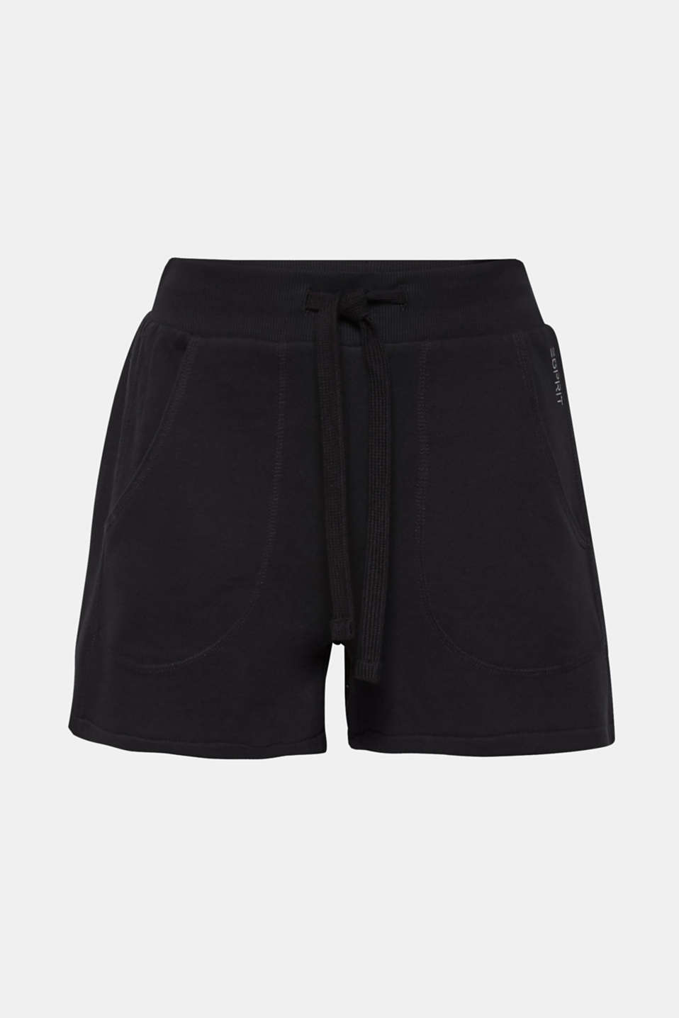 Shorts knitted, BLACK, detail image number 7