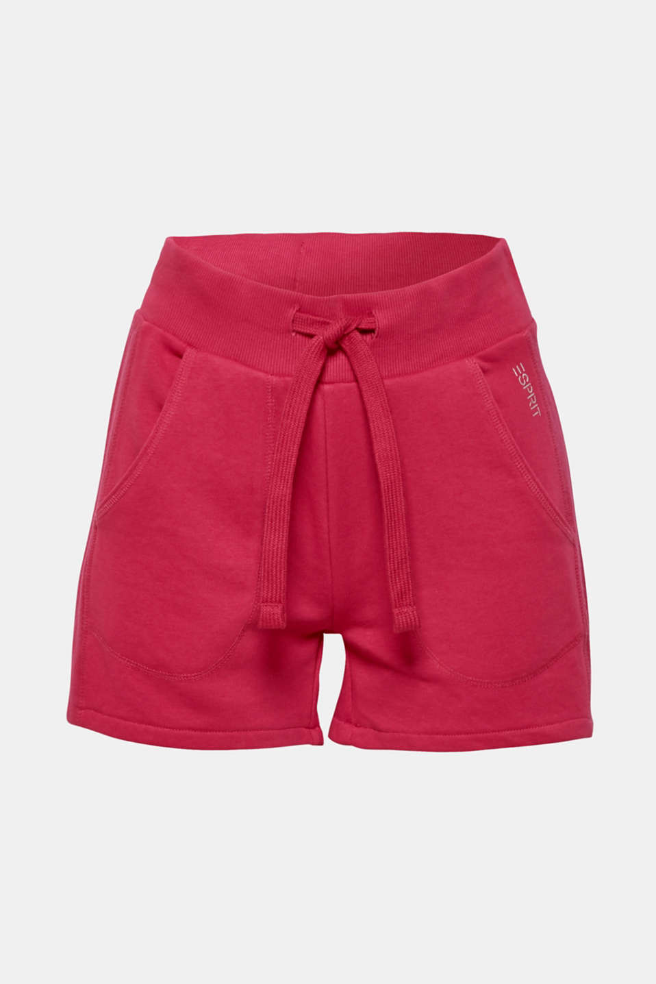 Shorts knitted, CHERRY RED, detail image number 6