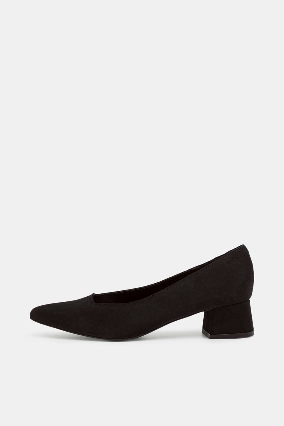 Esprit - Suede court shoes with a block heel