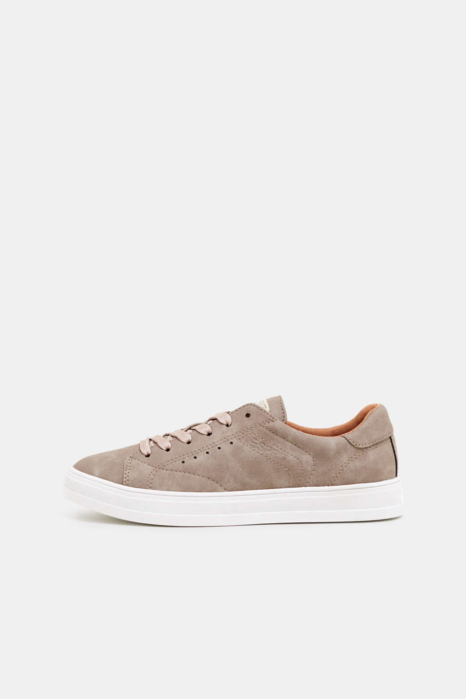 Esprit - Trainers in vegan faux nubuck
