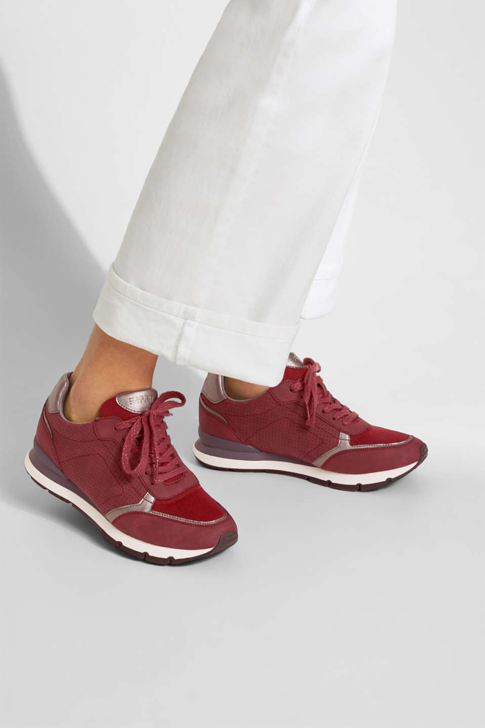 Casual Shoes others, BORDEAUX RED, detail image number 3