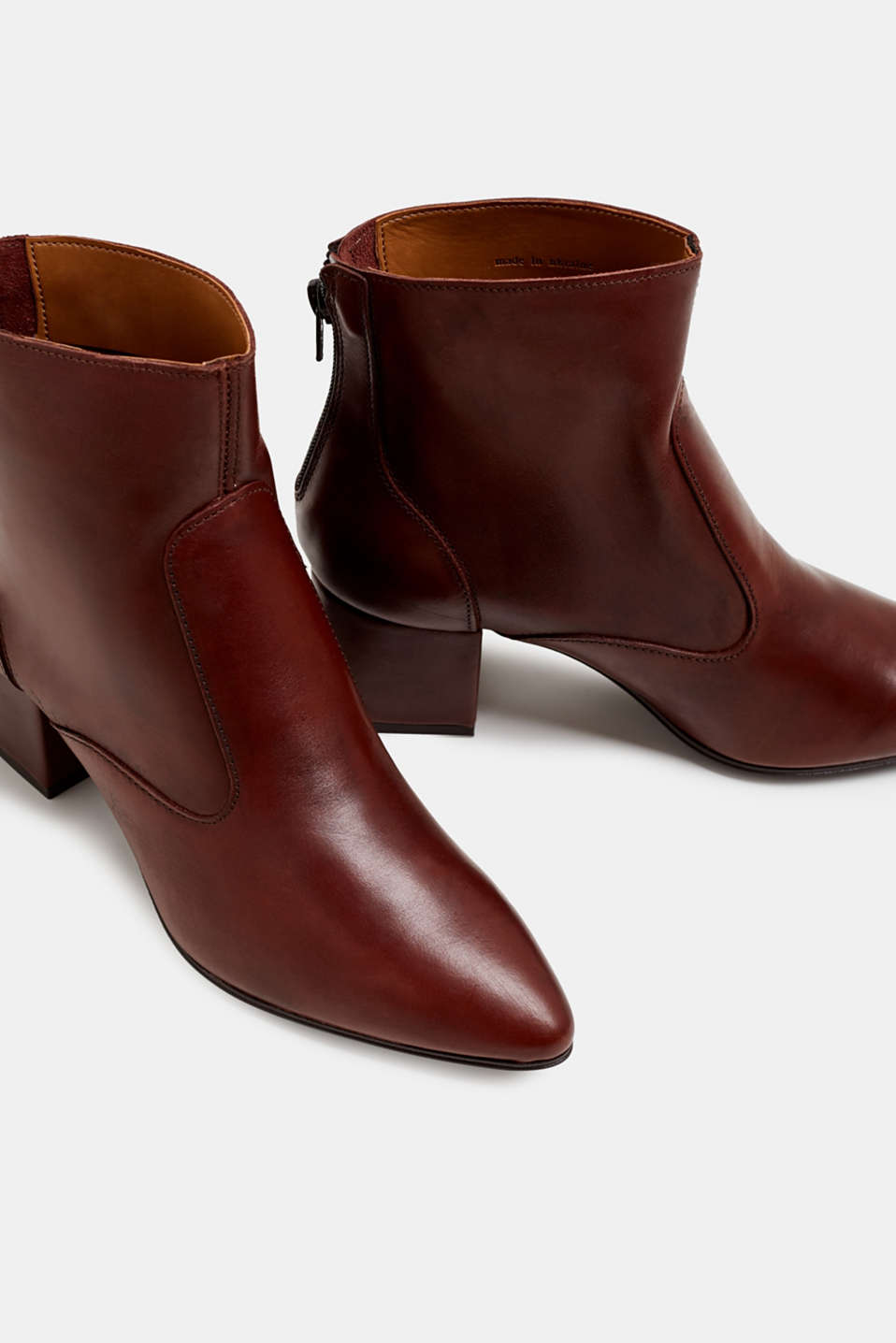 Formal Shoes leather, BROWN, detail image number 4