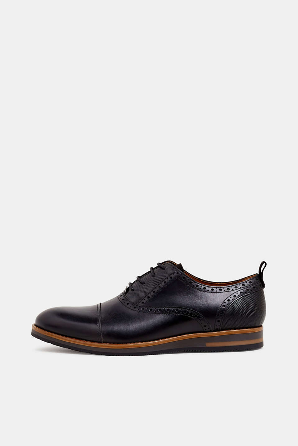 Esprit - Leather Derby shoes