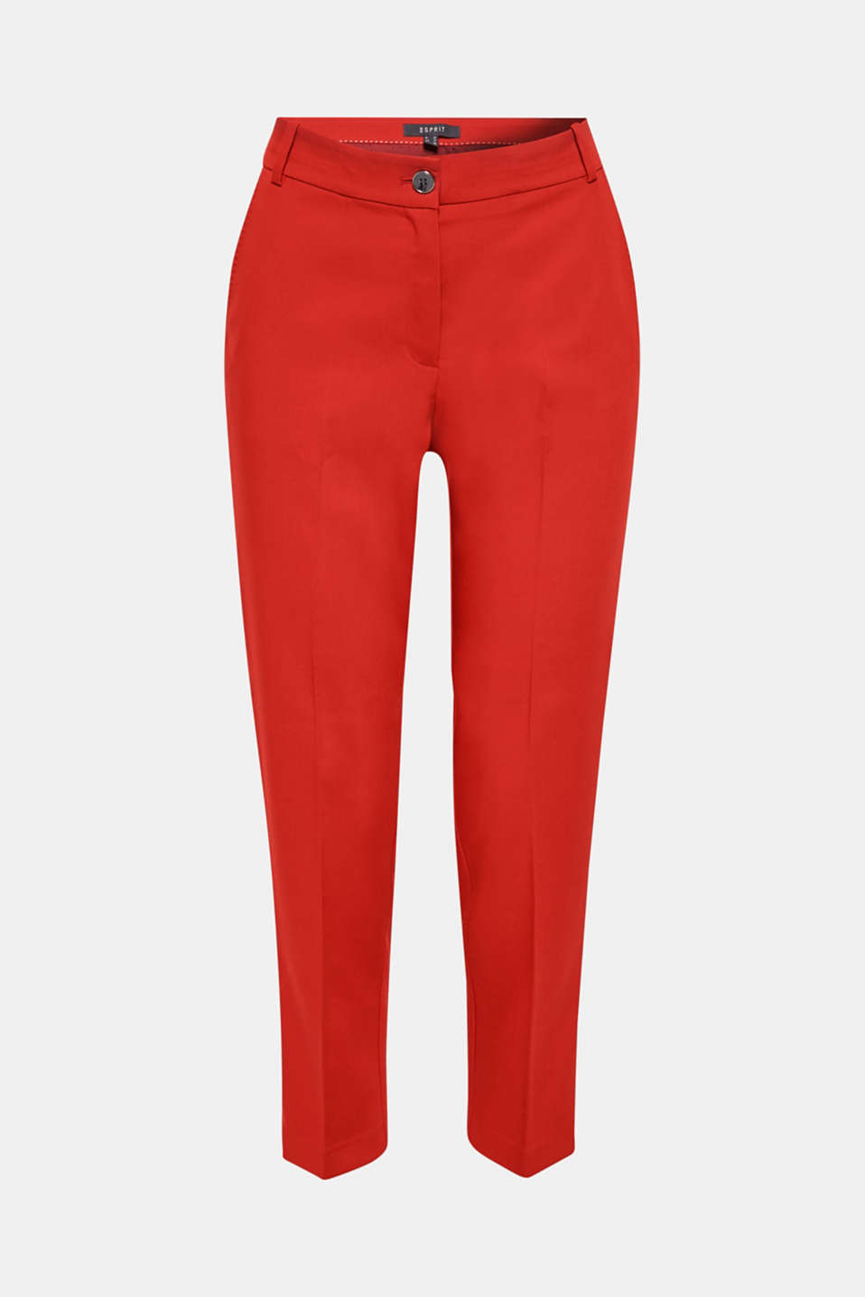 Classic mix + match trousers with stretch, TERRACOTTA, detail image number 7