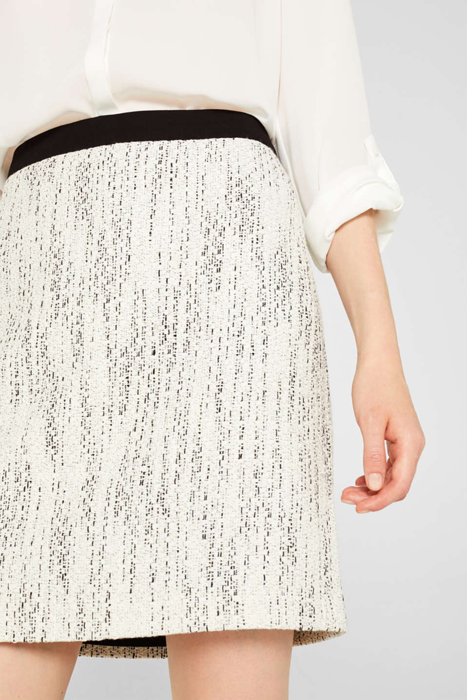 Skirts woven, OFF WHITE, detail image number 2