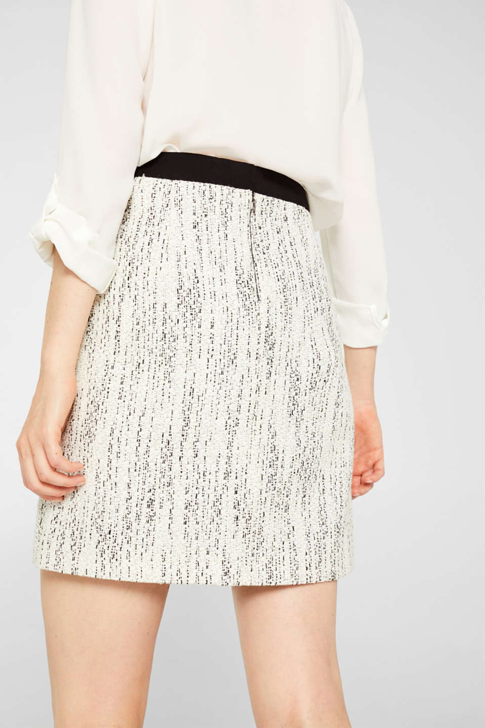 Skirts woven, OFF WHITE, detail image number 5