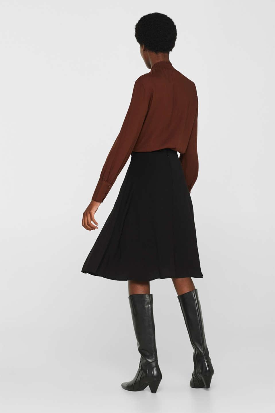 Skirts light woven, BLACK, detail image number 3