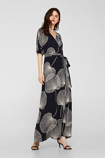Hippie strick kleid