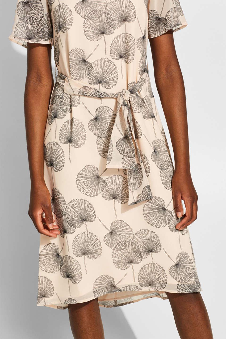 Dresses light woven, LIGHT BEIGE, detail image number 3